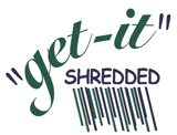 """get-it"" Shredded Logo"